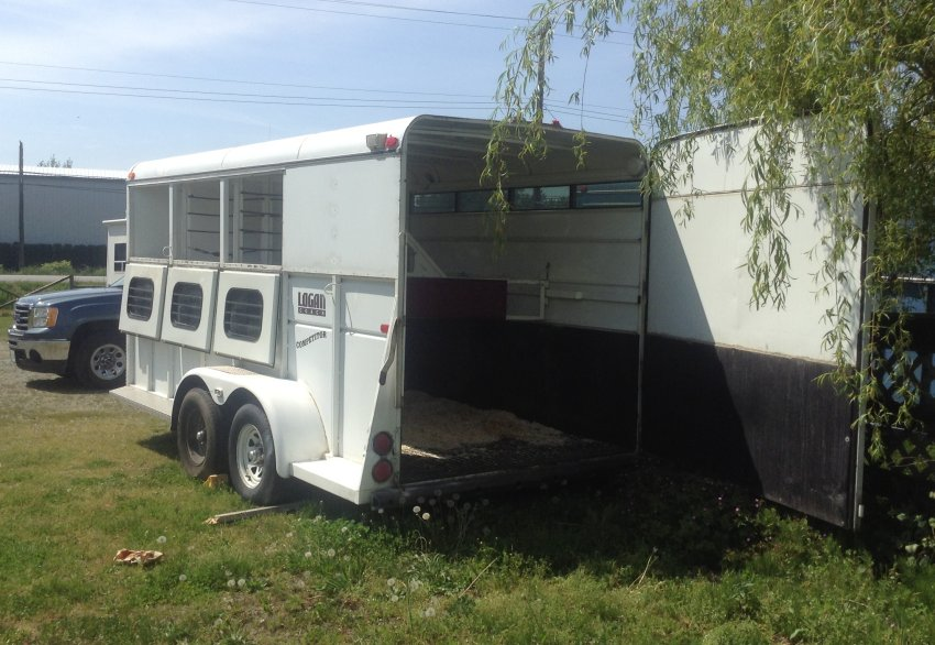3 horse trailer for sale